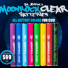 moonrock clear battery all colores