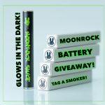 Moonrock glow battery