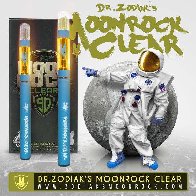 dr zodiak moonrock clear